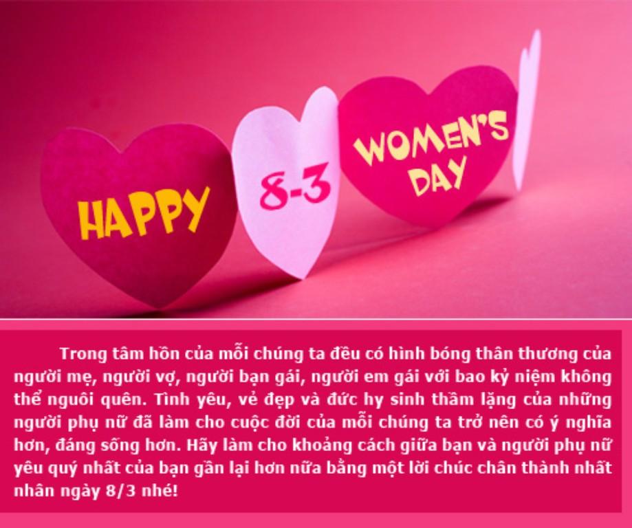 Blog Hóa Học Chúc mừng ngày quốc tế phụ nữ