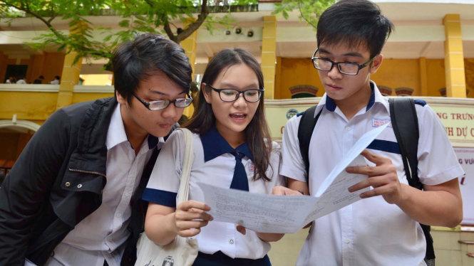Tra cứu điểm thi THPT Quốc Gia năm 2017 của thành phố Hồ Chí Minh