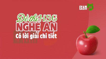 Đề thi HSG Tiếng Anh lớp 11 tỉnh Nghệ An năm 2016 -2017