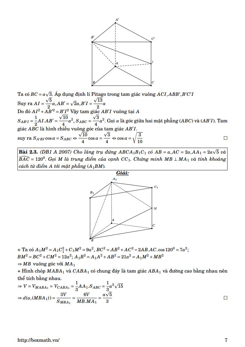 Một số bài tập có lời giải - Mặt cầu ngoại tiếp hình chóp