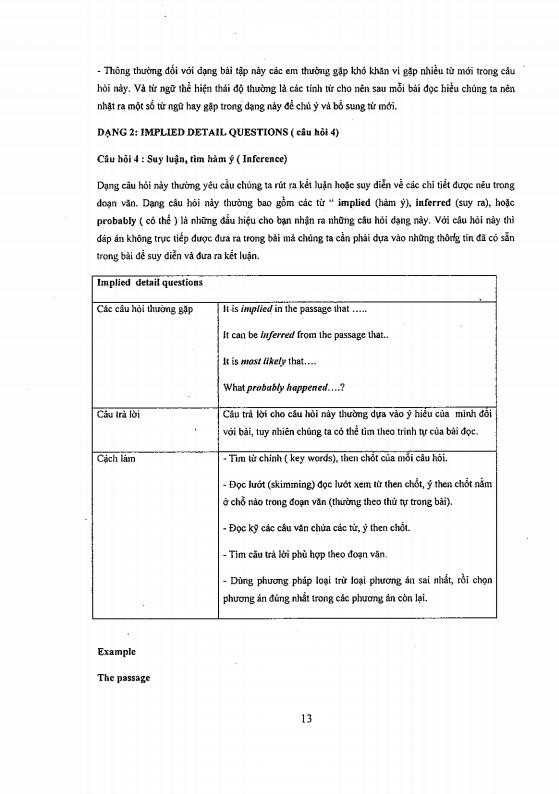 Rèn luyện kĩ năng làm bài đọc hiểu tiếng anh - Cô Mai Phương
