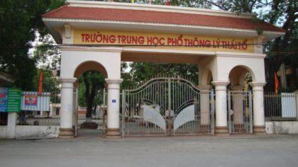 Đề thi HSG tiếng Anh 12 trường THPT Lý Thái Tổ - Bắc Ninh 2017