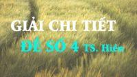 GIẢI CHI TIẾT đề thi thử tiếng Anh tiến sĩ Hiền số 4 - 2018