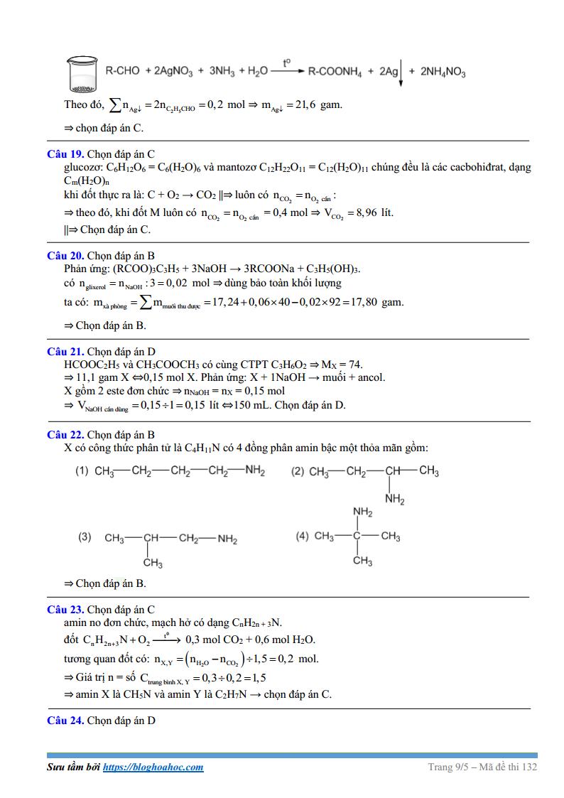 Đề thi thử môn Hóa trường THPT Chuyên Vinh lần 1 - 2018 có đáp án và lời giải chi tiết