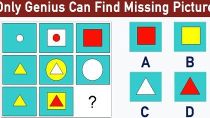Test IQ Miễn phí bằng hình ảnh có đáp án