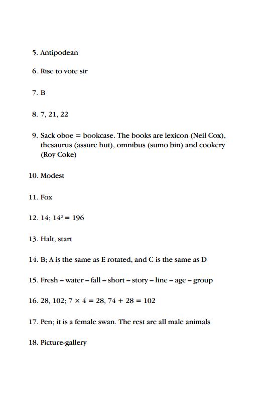Test IQ Online - Bài trắc nghiệm IQ số 02 - MIỄN PHÍ HOÀN TOÀN