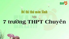 GIẢI CHI TIẾT đề thi thử môn Sinh 2019 hội 7 trường THPT Chuyên lần 3