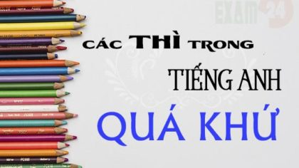 12 thi co ban trong tieng anh - toeic