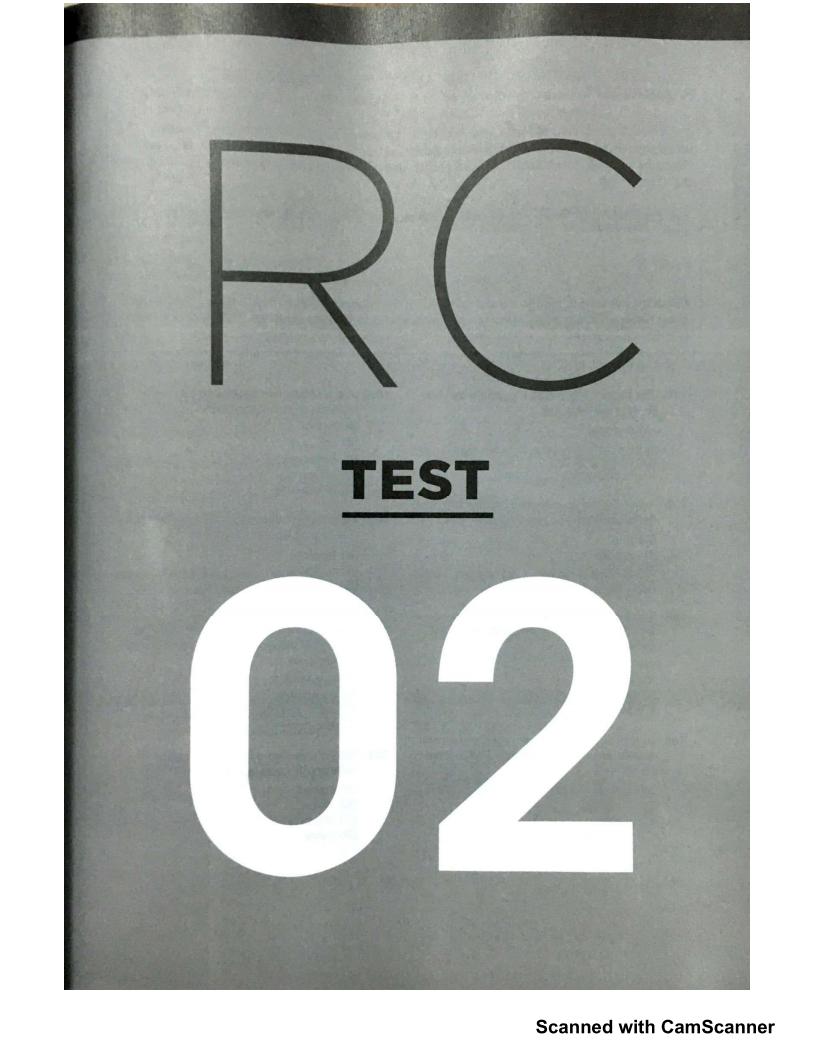 CHUẨN CẤU TRÚC 2019 - Đề TOEIC ETS Reading Test 02 MỚI NHẤT